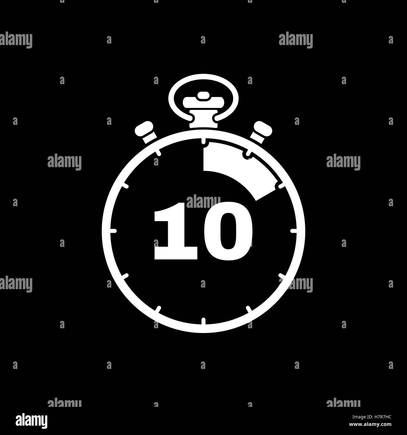 timer 10 minutes vector illustration stock photos timer 10 minutes