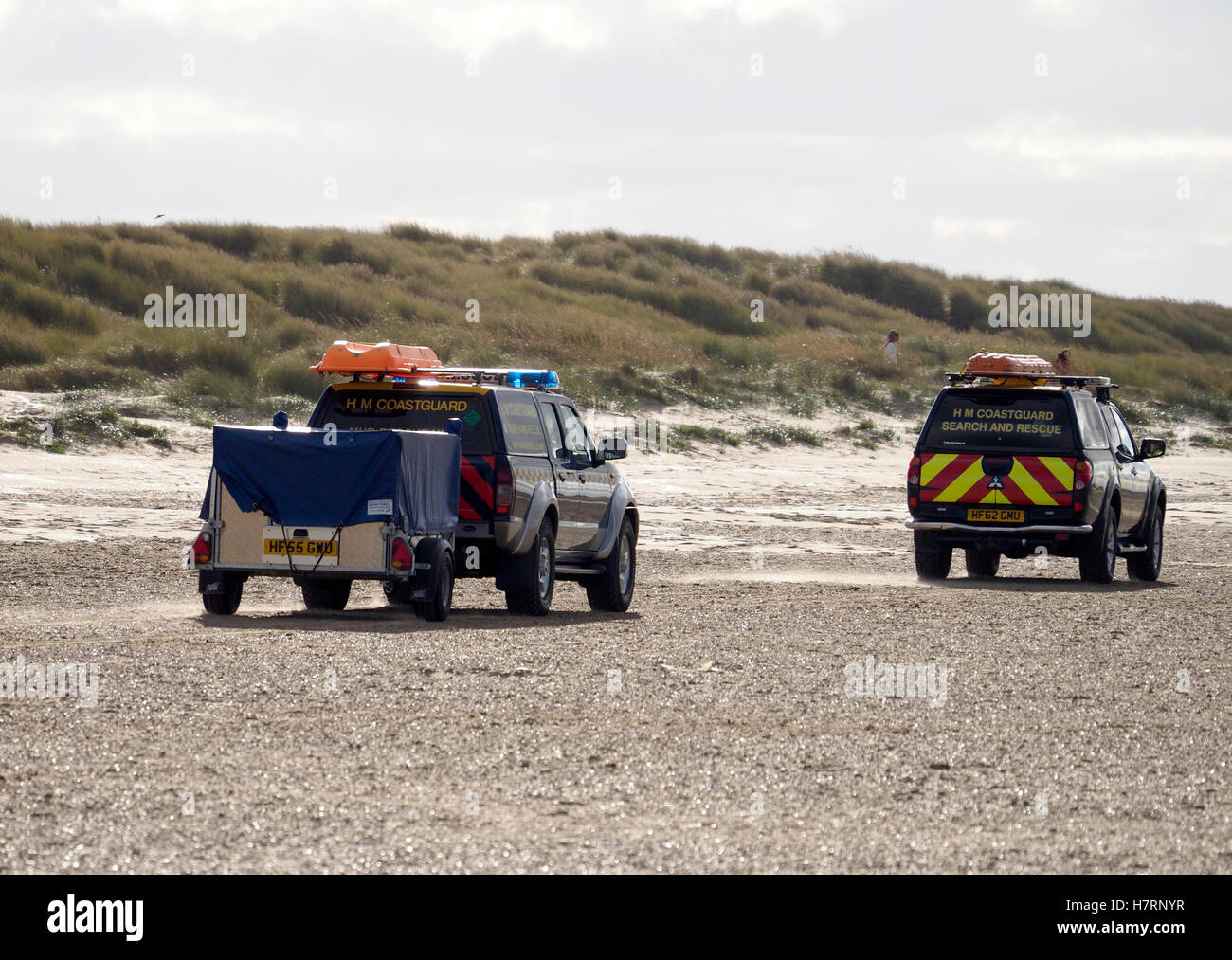 Ainsdale Beach, Southport, UK. 7th November, 2016. The body of a women found on Ainsdale Beach this morning 7th - Stock Image