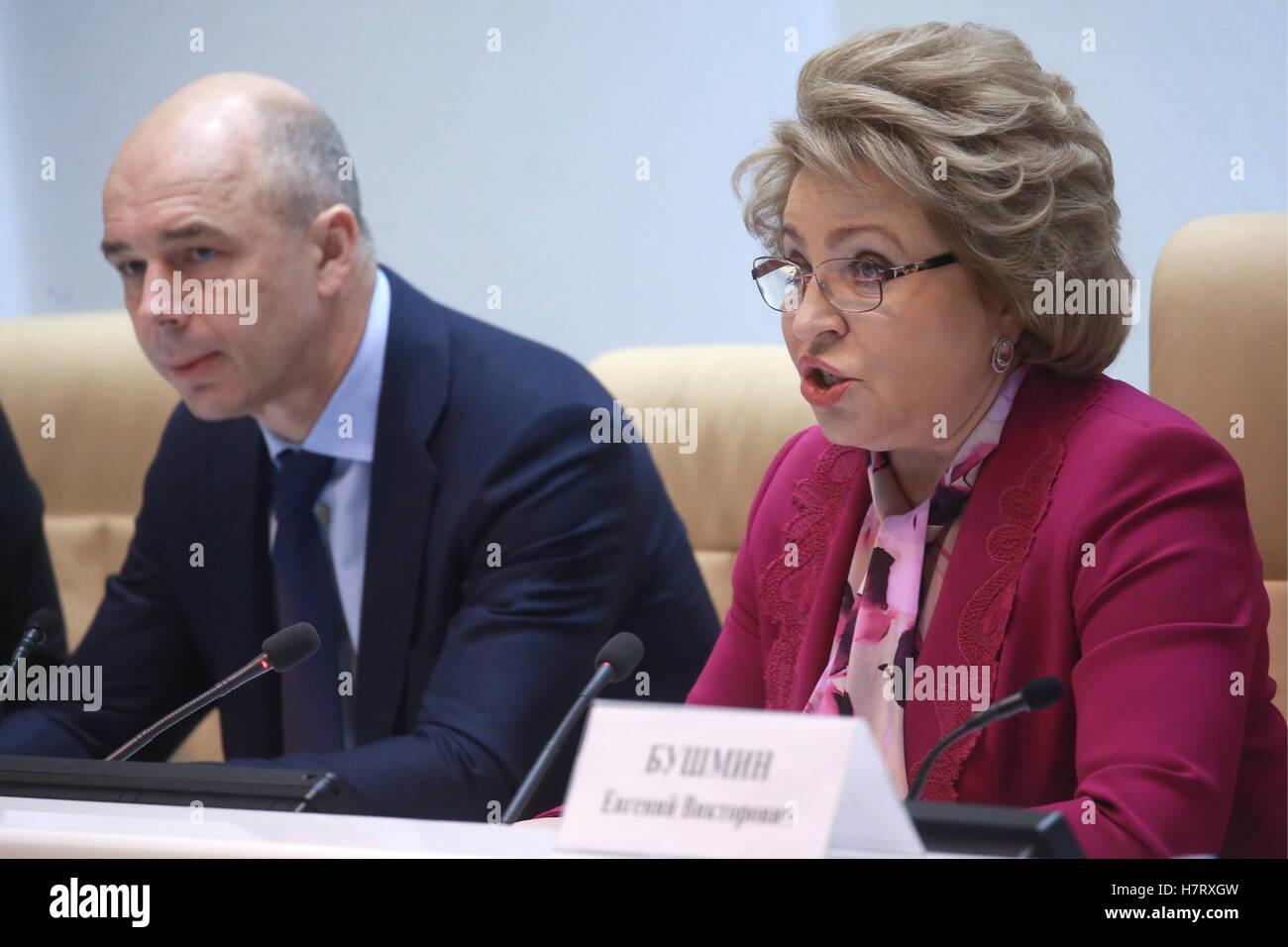 Valentina Matvienko again took over as head of the Federation Council 01.10.2014 95