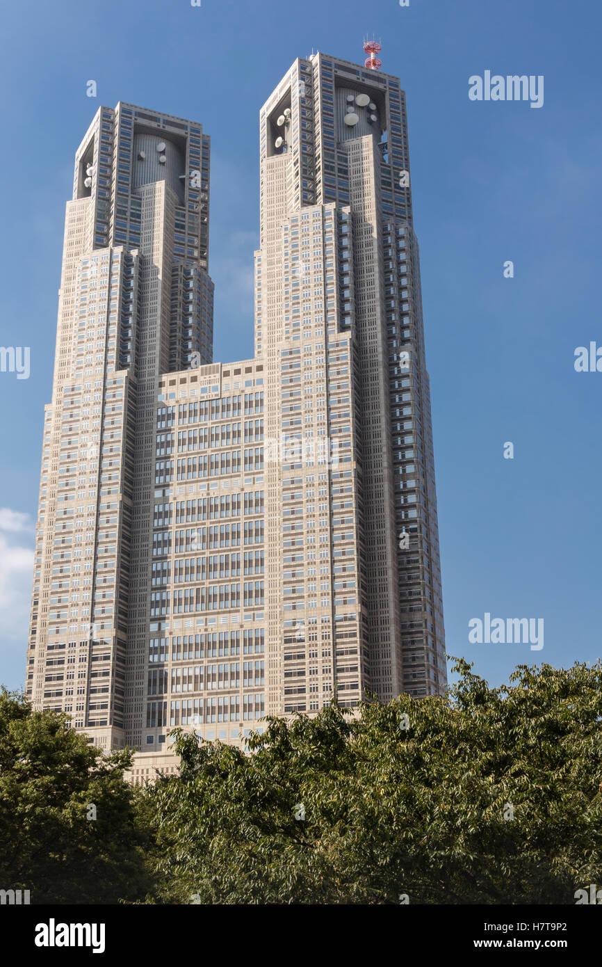 Tokyo Metropolitan Government building - Stock Image