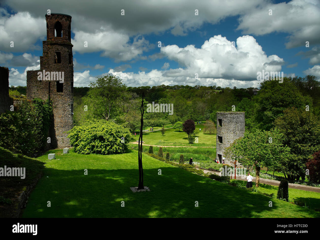 Blarney castle; County Cork, Ireland - Stock Image
