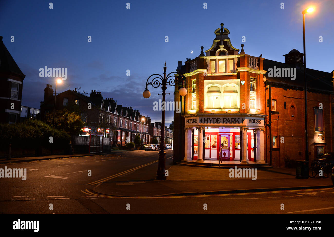 Hyde Park Picture House, Leeds - Stock Image
