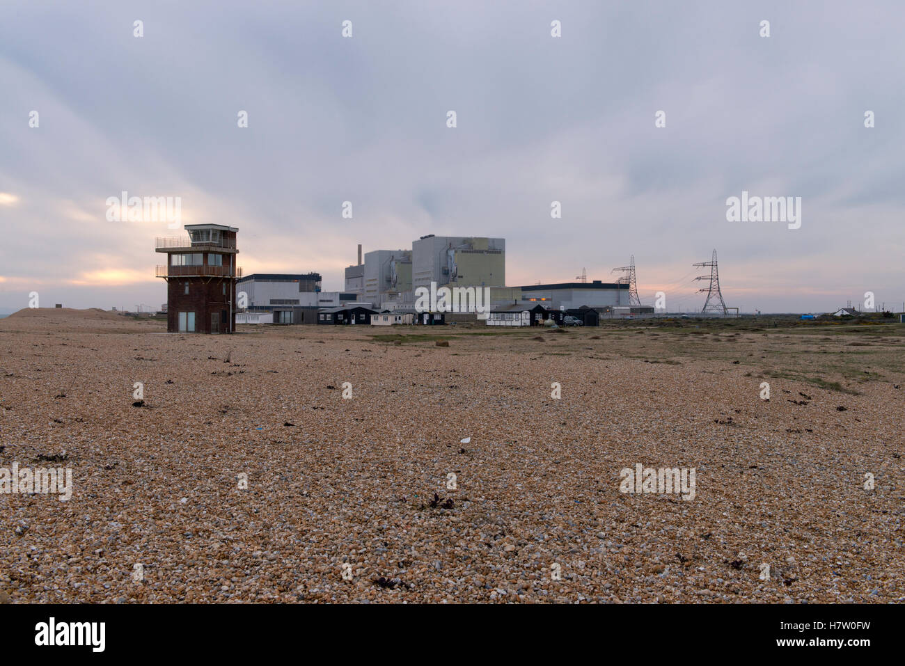 Dungeness nuclear power station - Stock Image