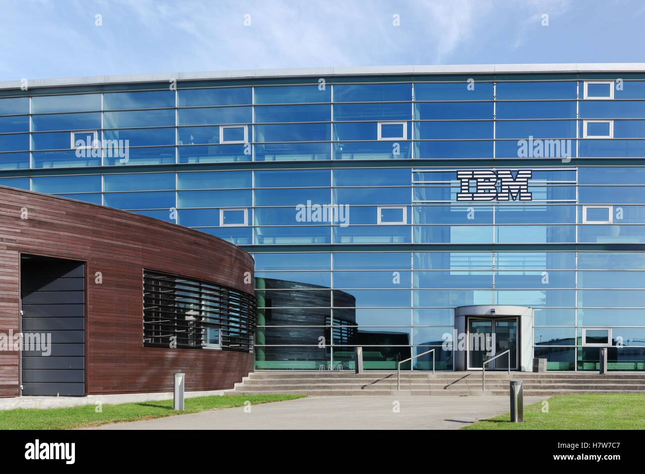 IBM building and office in Denmark - Stock Image