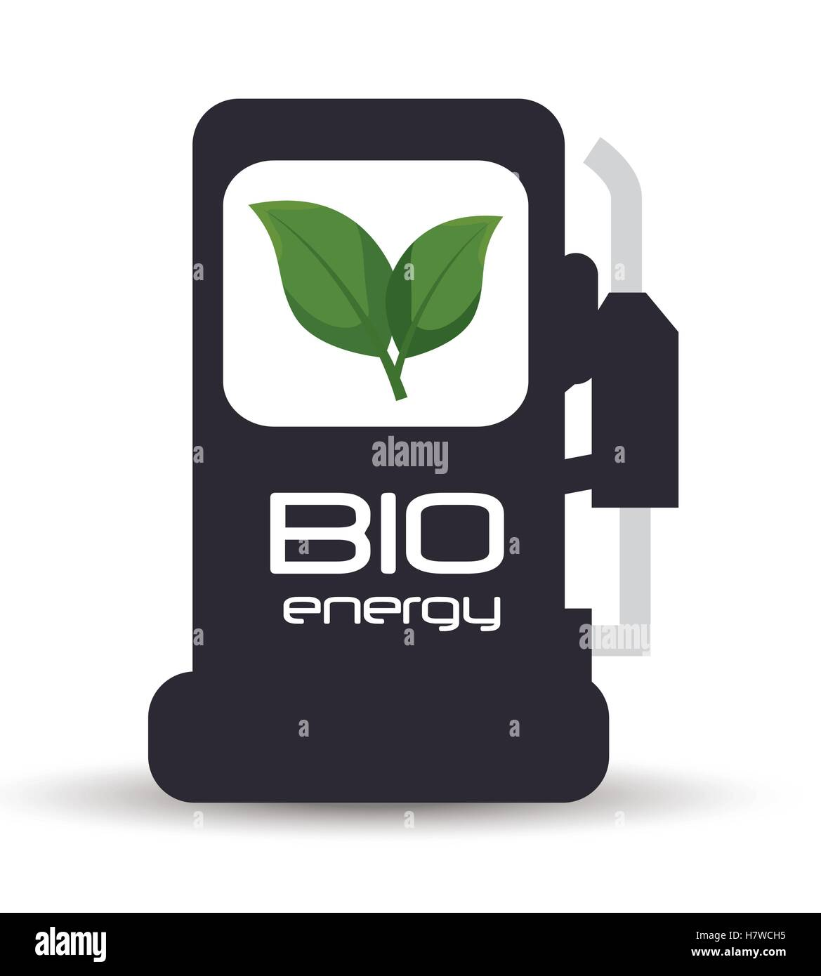 green industry isolated icon vector illustration design - Stock Image