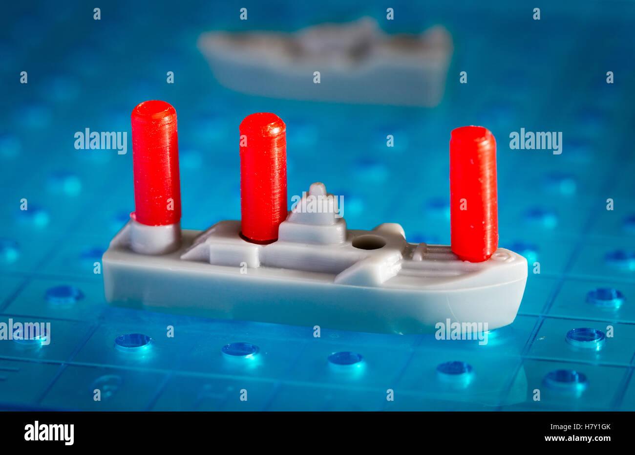 Battleships board game - Stock Image