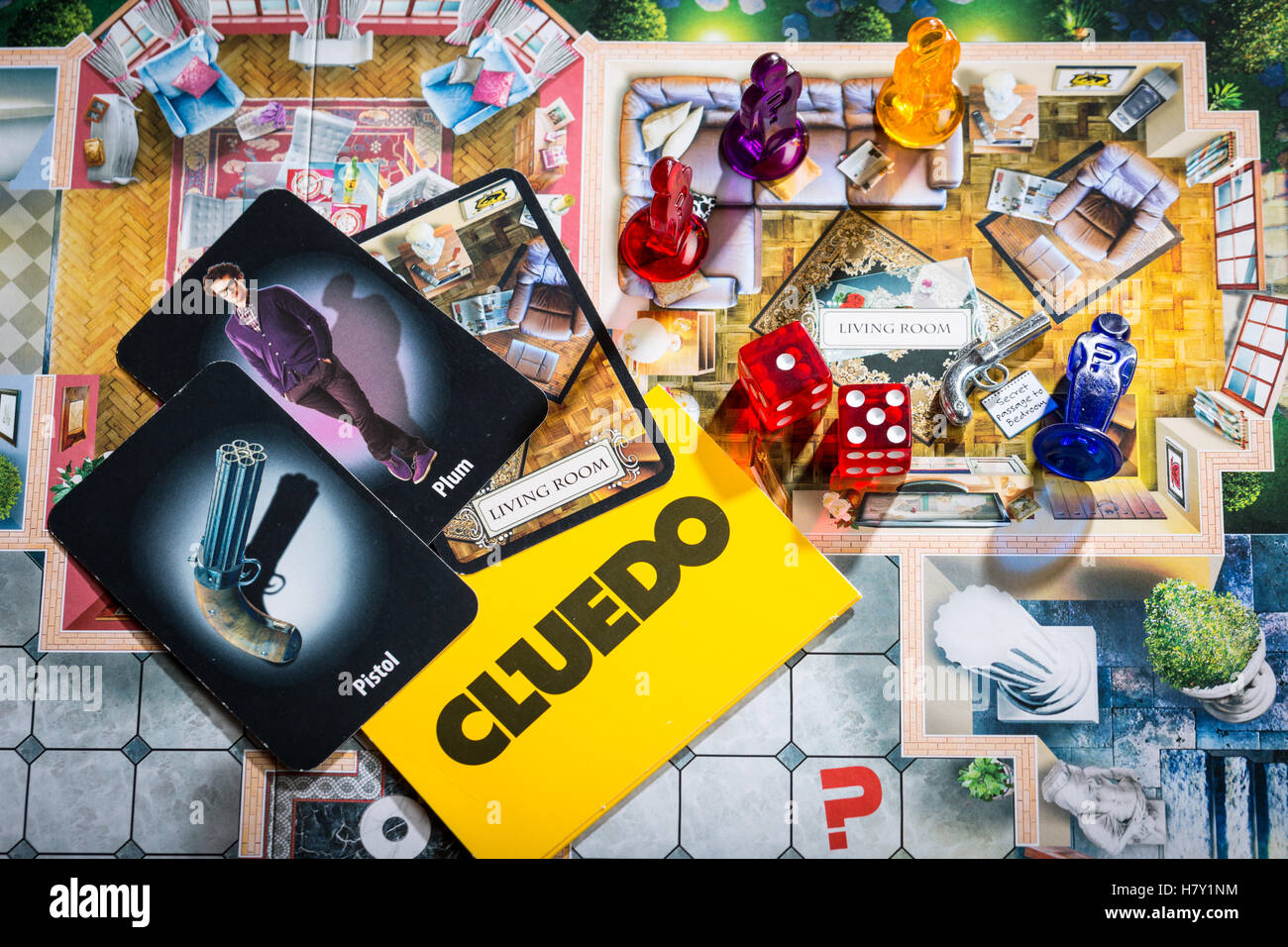 Cluedo board game - Stock Image