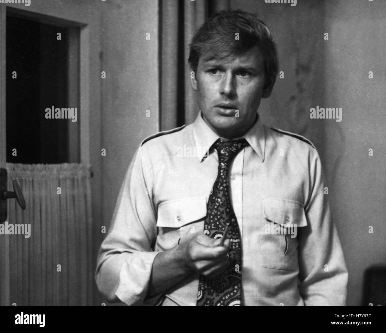 TATORT: Der Mann aus Zimmer 22 / Schweigepflicht, D 1974, ULRICH VON DOBSCHÜTZ Stock Photo