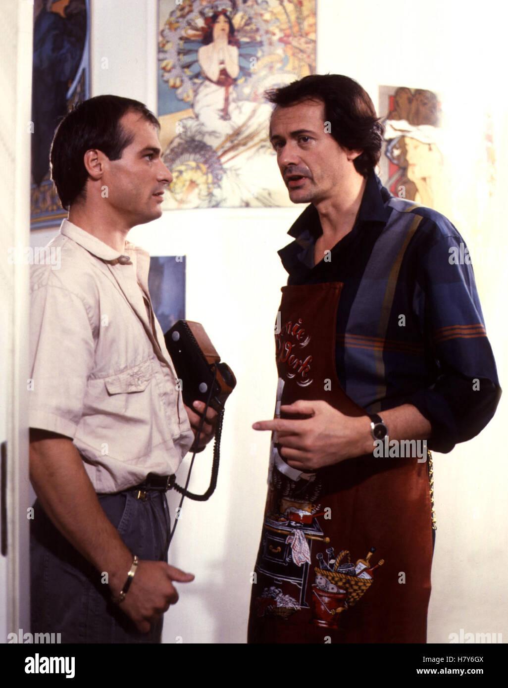 DERRICK: Toter Goldfisch, D 1984, Regie: Zbynek Brynych, HANS GEORG PANCZAK, GERD BÖCKMANN - Stock Image