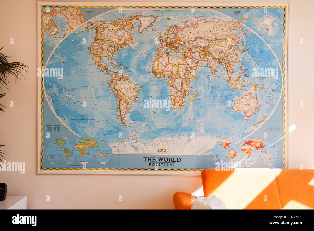 National Geographic Wall Map of political World, Prague open ... on europe shaded on a world map, national geographic world mural map, national geographic language world map, national geographic world map wallpaper, national geographic framed world map, national geographic large world map,