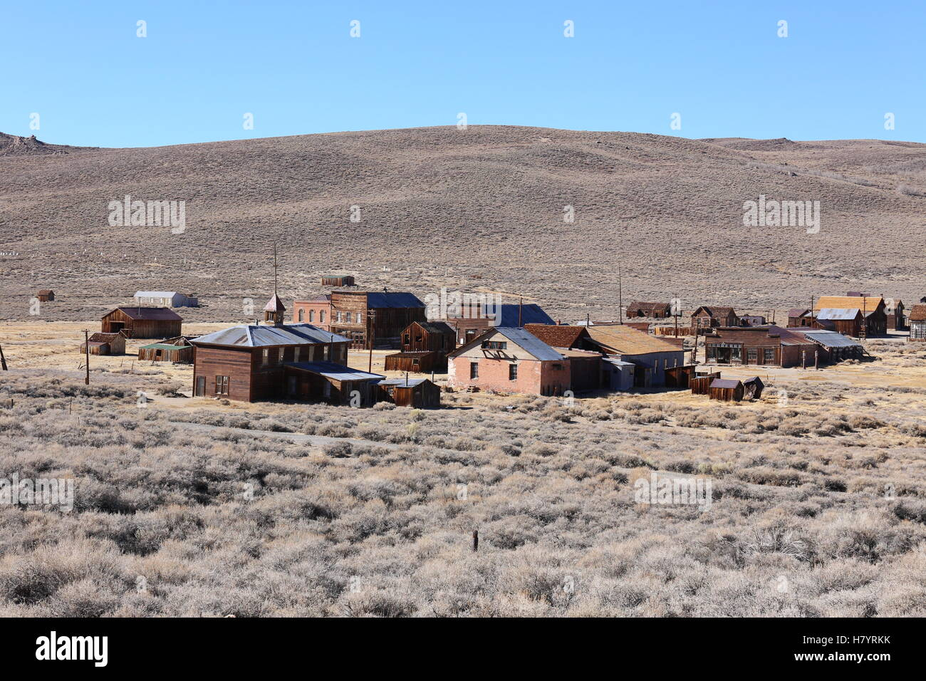Bodie Ghosttown, State Historic Park, California, USA - Stock Image