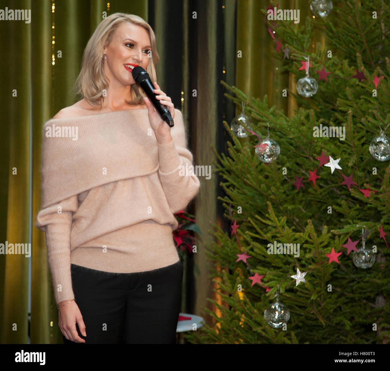 SANNA NIELSEN Swedish singer - Stock Image