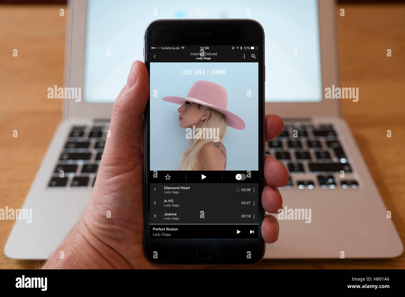 Music Streaming Service Stock Photos & Music Streaming