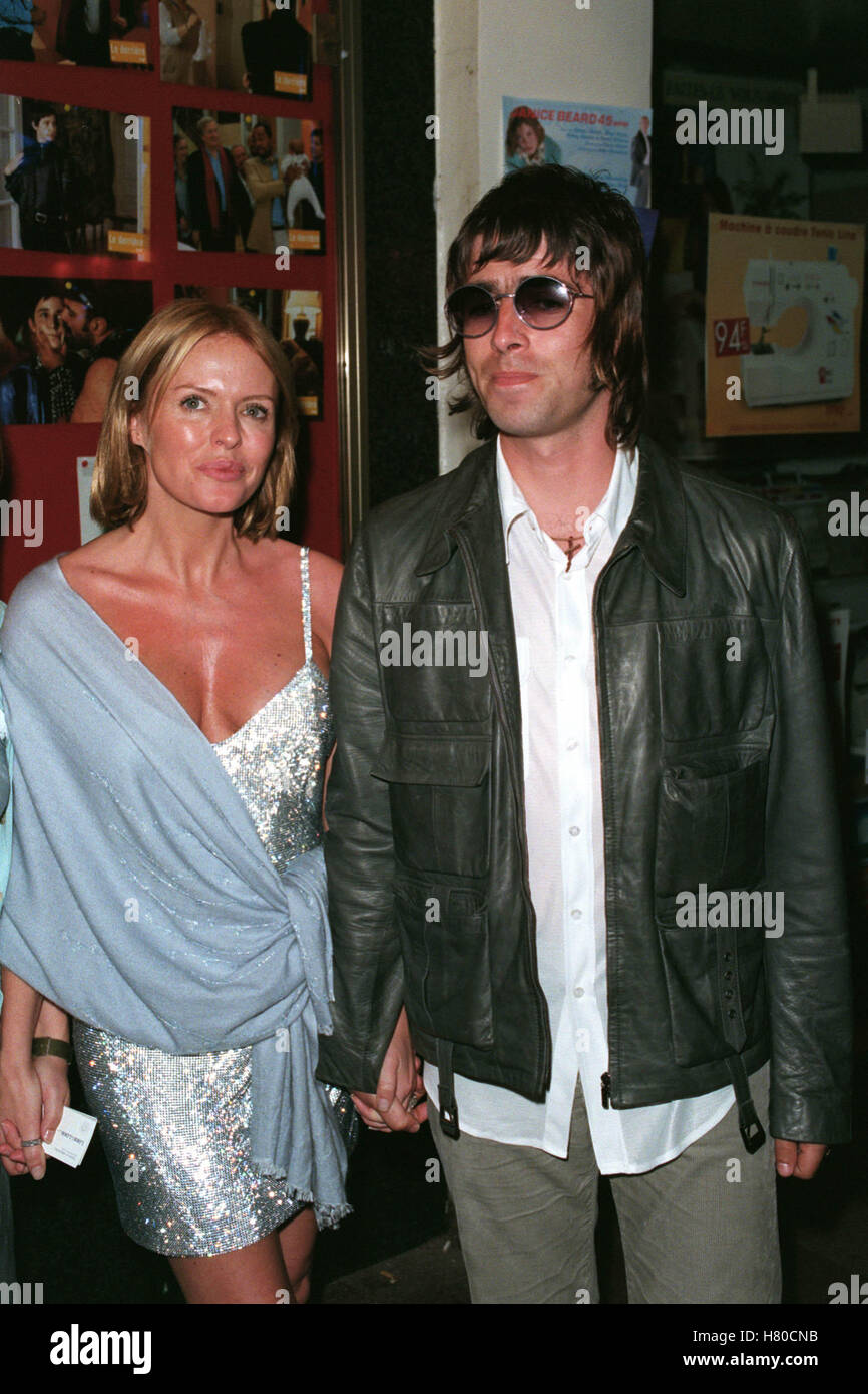 PATSY KENSIT & LIAM GALLAGHER  23 May 1999 - Stock Image