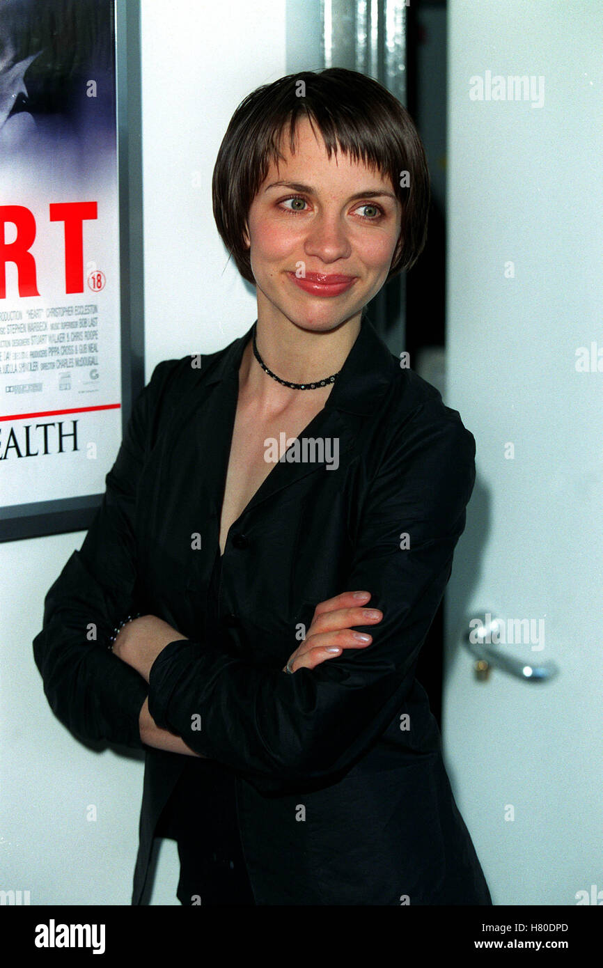 KATE HARDIE  09 June 1999 - Stock Image