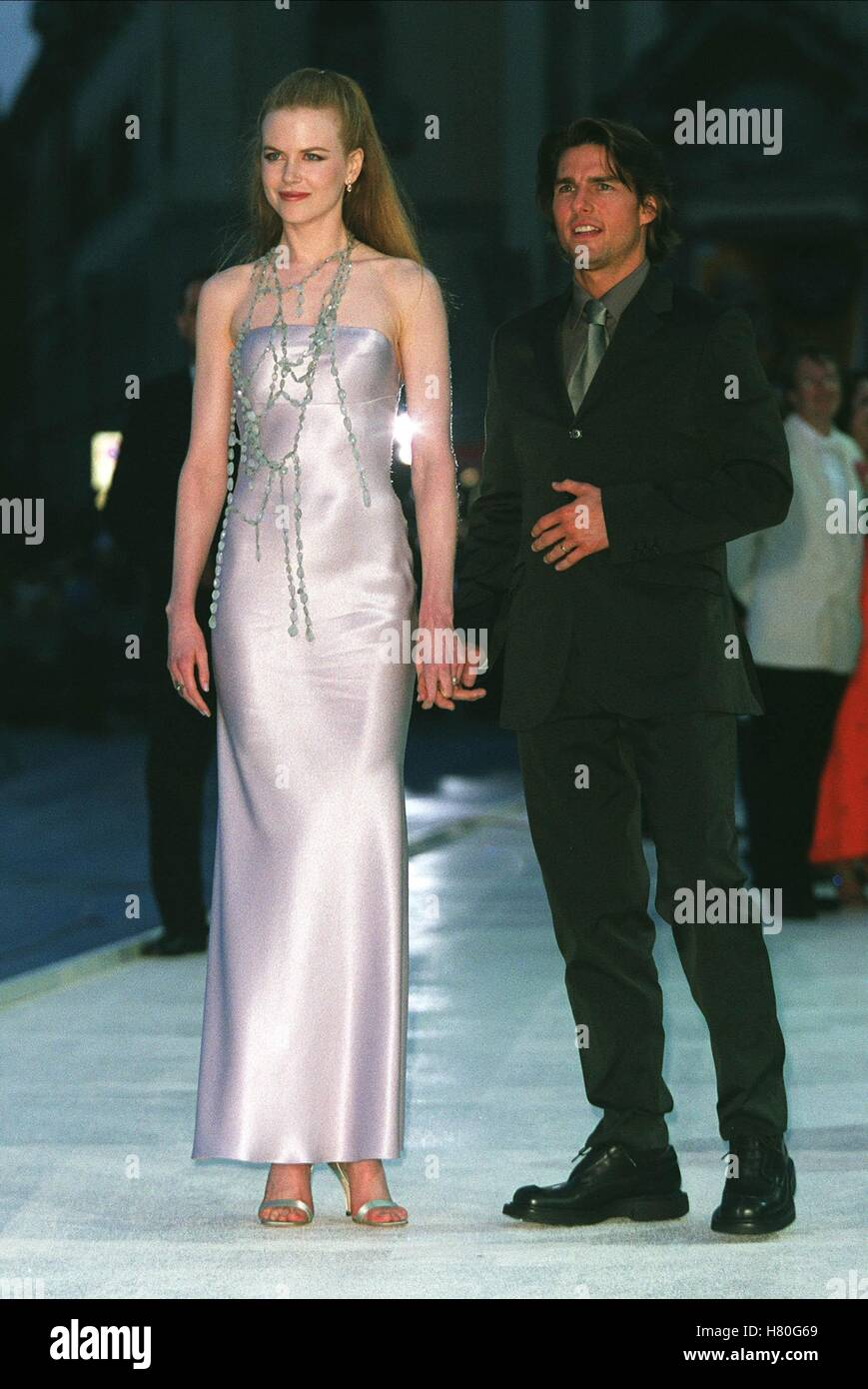 NICOLE KIDMAN & TOM CRUISE EYES WIDE SHUT PREMIERE 56TH VENICE INTERNATIONAL FILM FESTIVAL 01 September 1999 - Stock Image