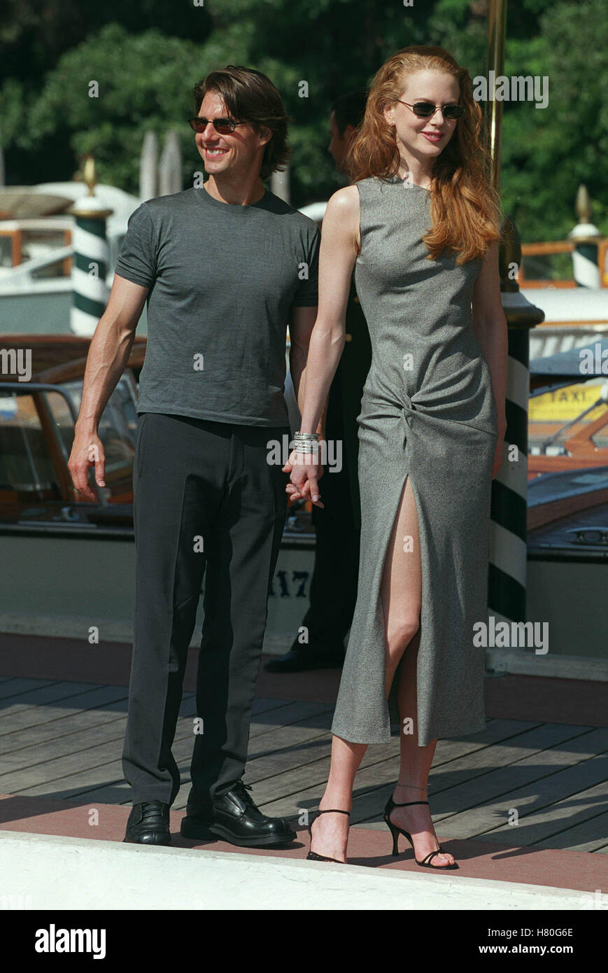 TOM CRUISE & NICOLE KIDMAN EYES WIDE SHUT PHOTOCALL 56TH VENICE INTERNATIONAL FILM FESTIVAL 01 September 1999 - Stock Image