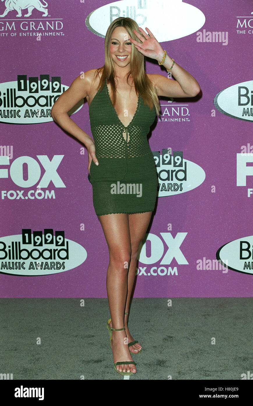 MARIAH CAREY LAS VEGAS USA 13 December 1999 Stock Photo: 125404337 ...