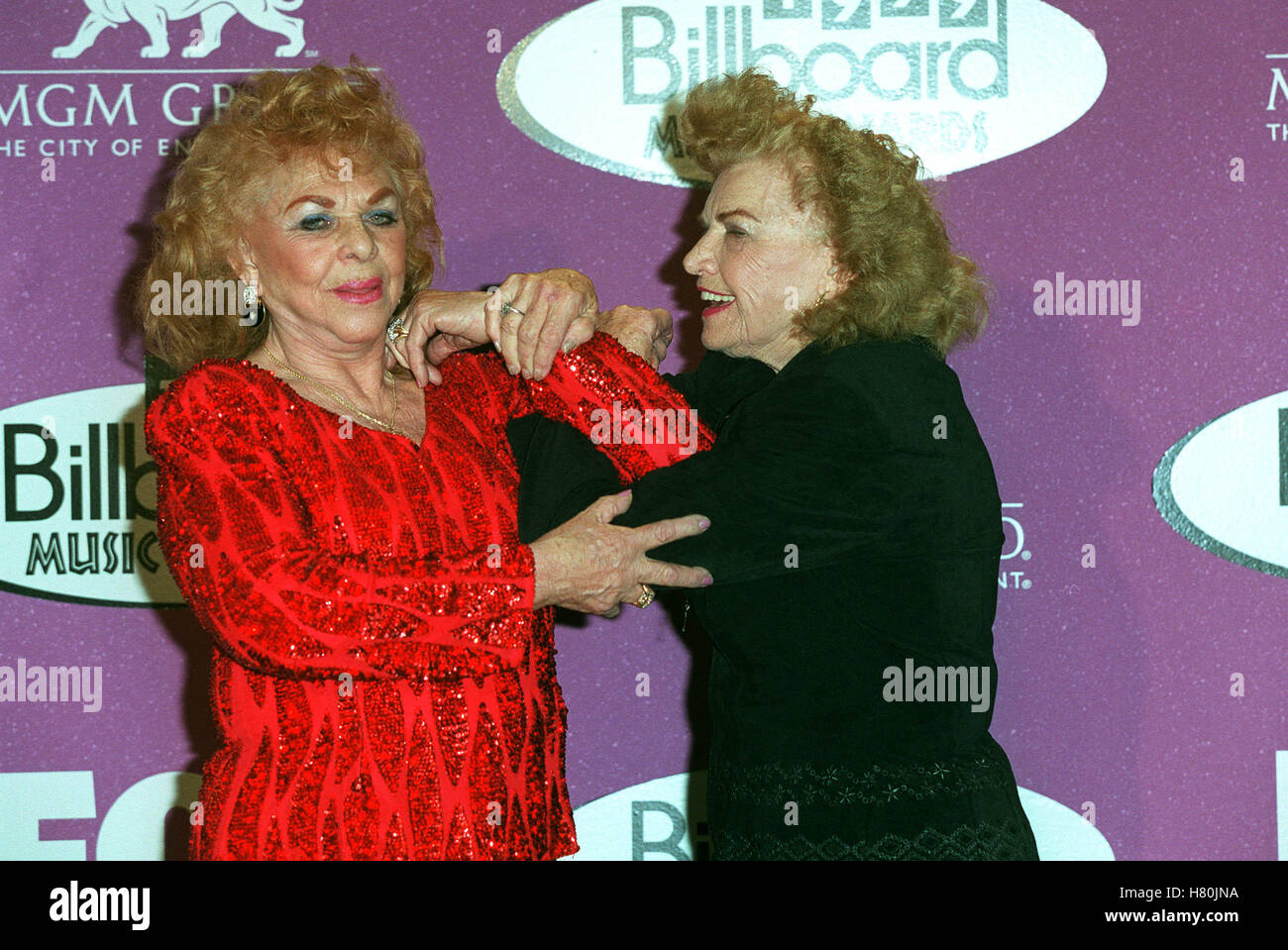 FABULOUS MOOLAH & MAE YOUNG LAS VEGAS USA 13 December 1999 - Stock Image
