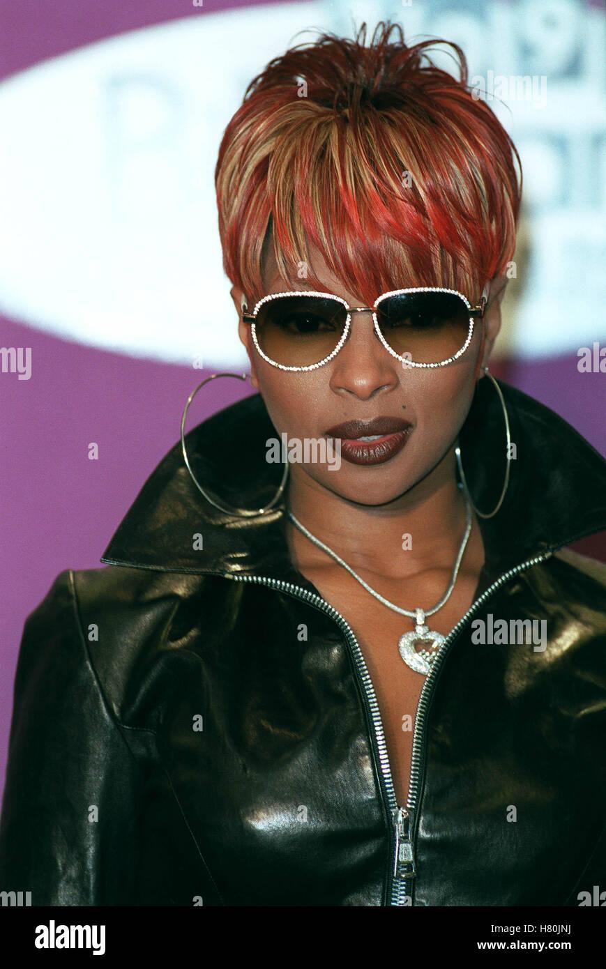 MARY J BLIGE  13 December 1999 - Stock Image
