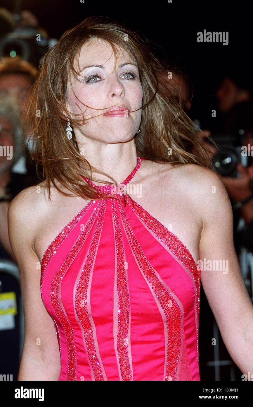 LIZ HURLEY  18 May 2000 - Stock Image