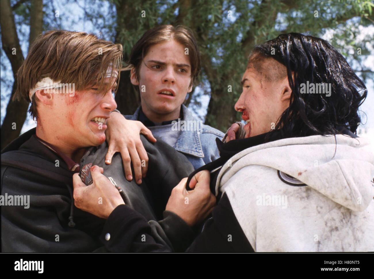 Blutiger Ernst, Kriminalfilm D 1997, Regie : Bernd Böhlich, KEN DUKEN, DANIEL BRÜHL, JULIAN MANUEL, Stichwort: Schlägerei, Stock Photo