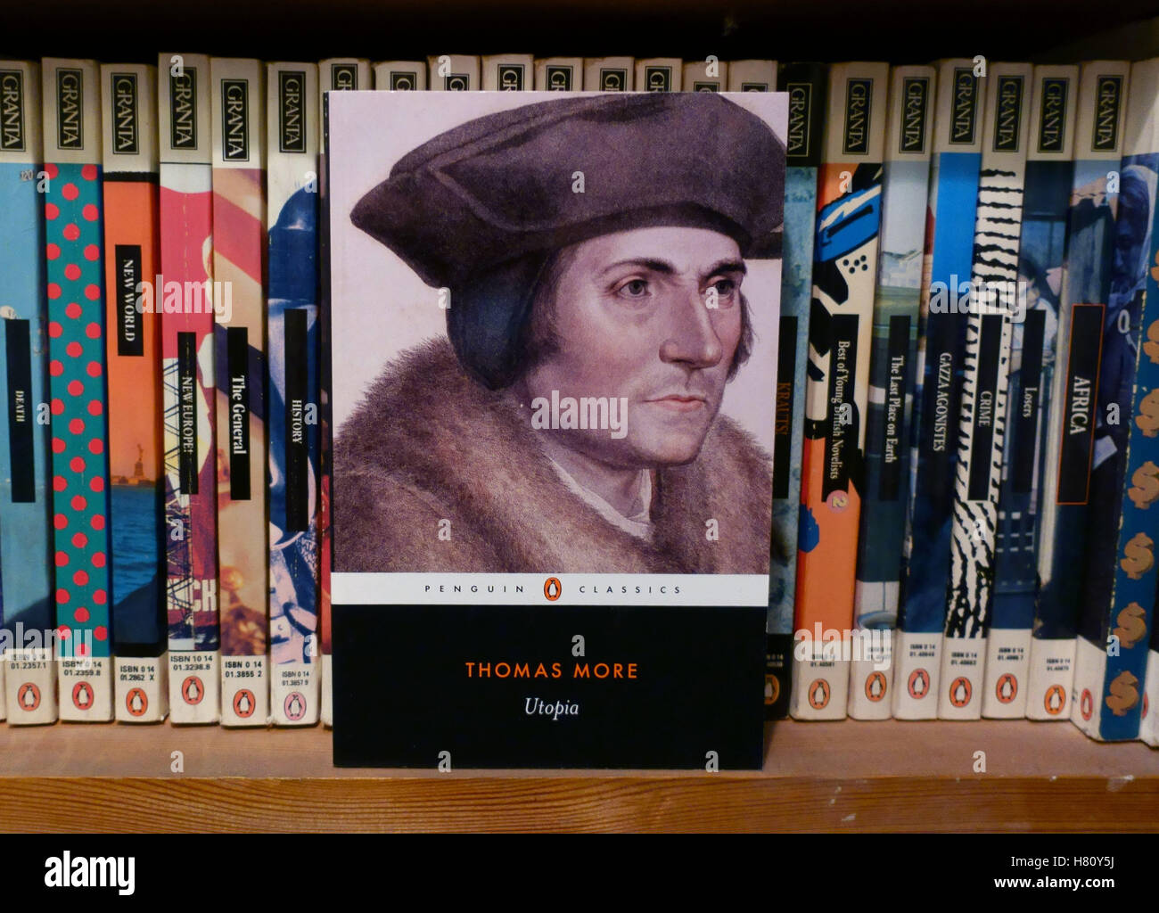 2016 is 500th anniversary of publication on Utopia by Thomas More, London - Stock Image