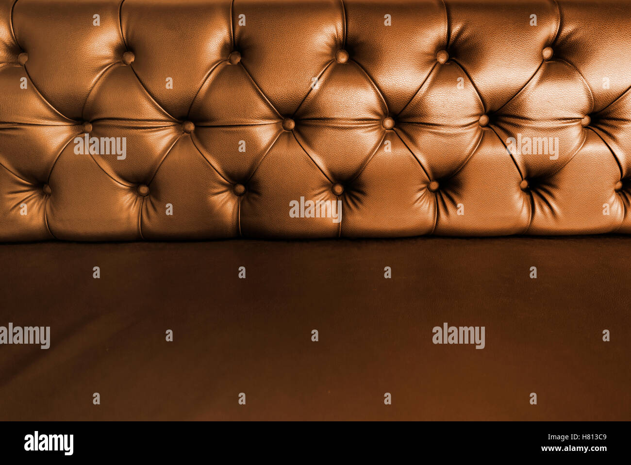 Background With Close Up Of Dark Brown Leather Seal.   Stock Image