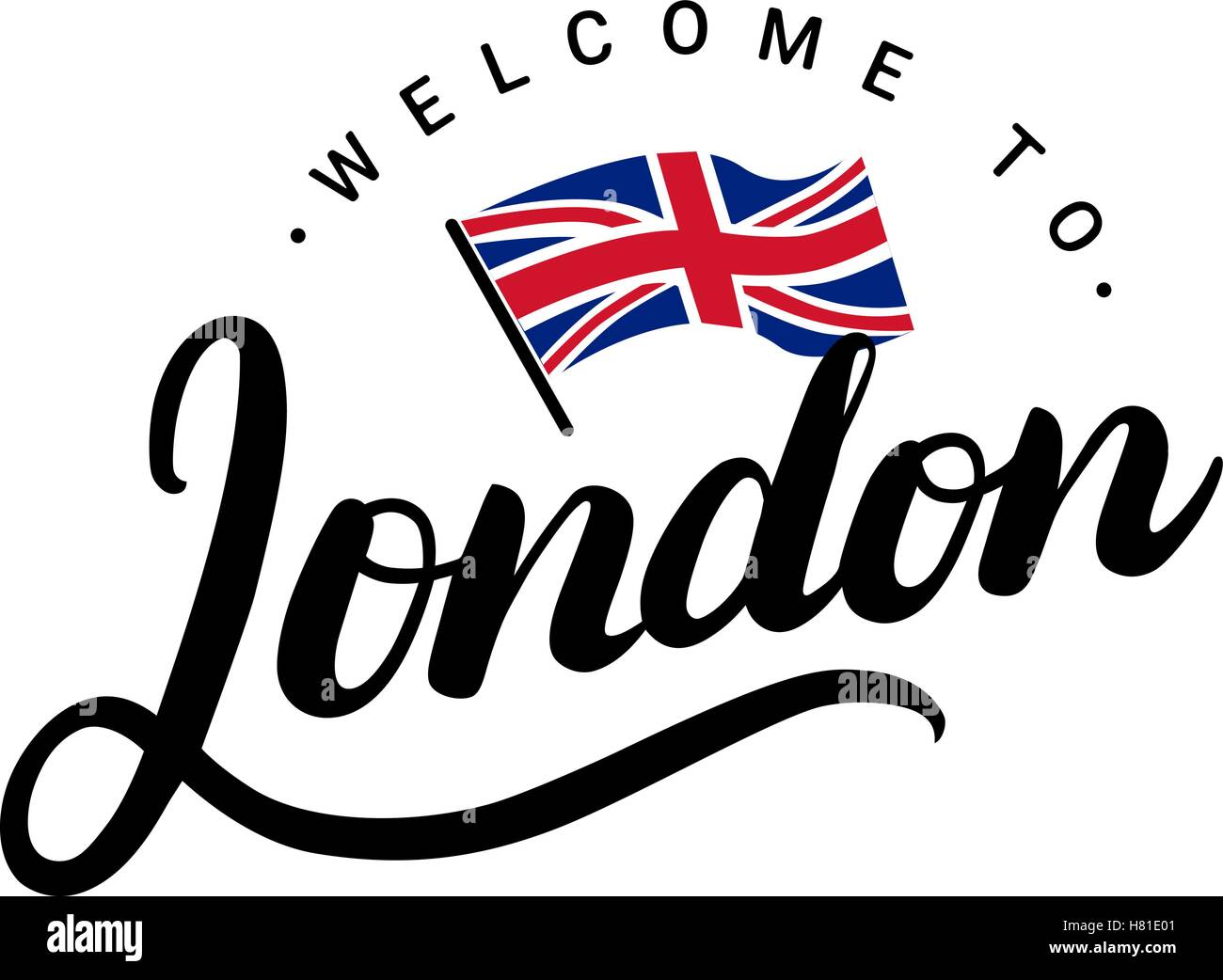 British Welcome Greeting Gallery Greetings Card Design Simple