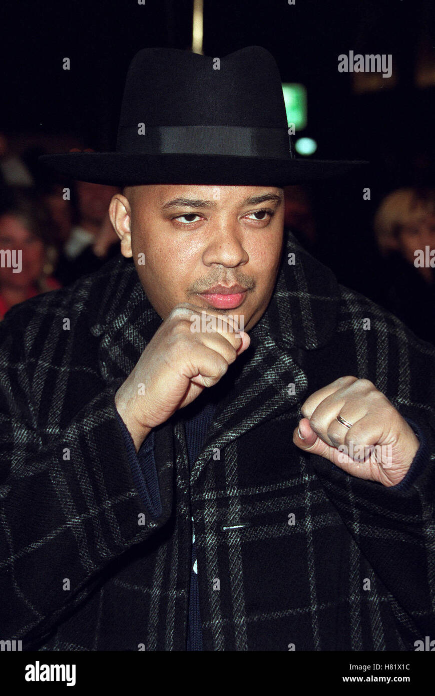 RUN DMC MUHAMMAD ALI'S 60TH BIRTHDAY KODAK THEATRE LA USA 12 January 2002 - Stock Image