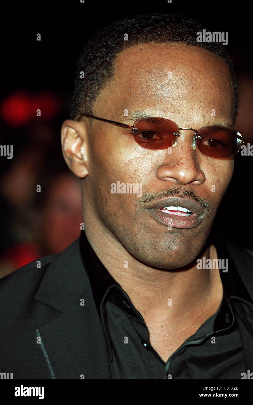 JAMIE FOXX MUHAMMAD ALI'S 60TH BIRTHDAY KODAK THEATRE LA USA 12 January 2002 - Stock Image