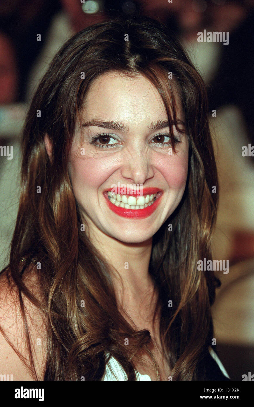 GINA PHILIPS MUHAMMAD ALI'S 60TH BIRTHDAY KODAK THEATRE LA USA 12 January 2002 - Stock Image