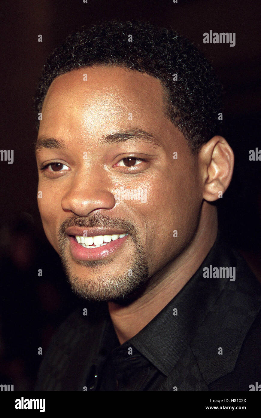 WILL SMITH MUHAMMAD ALI'S 60TH BIRTHDAY KODAK THEATRE LA USA 12 January 2002 - Stock Image