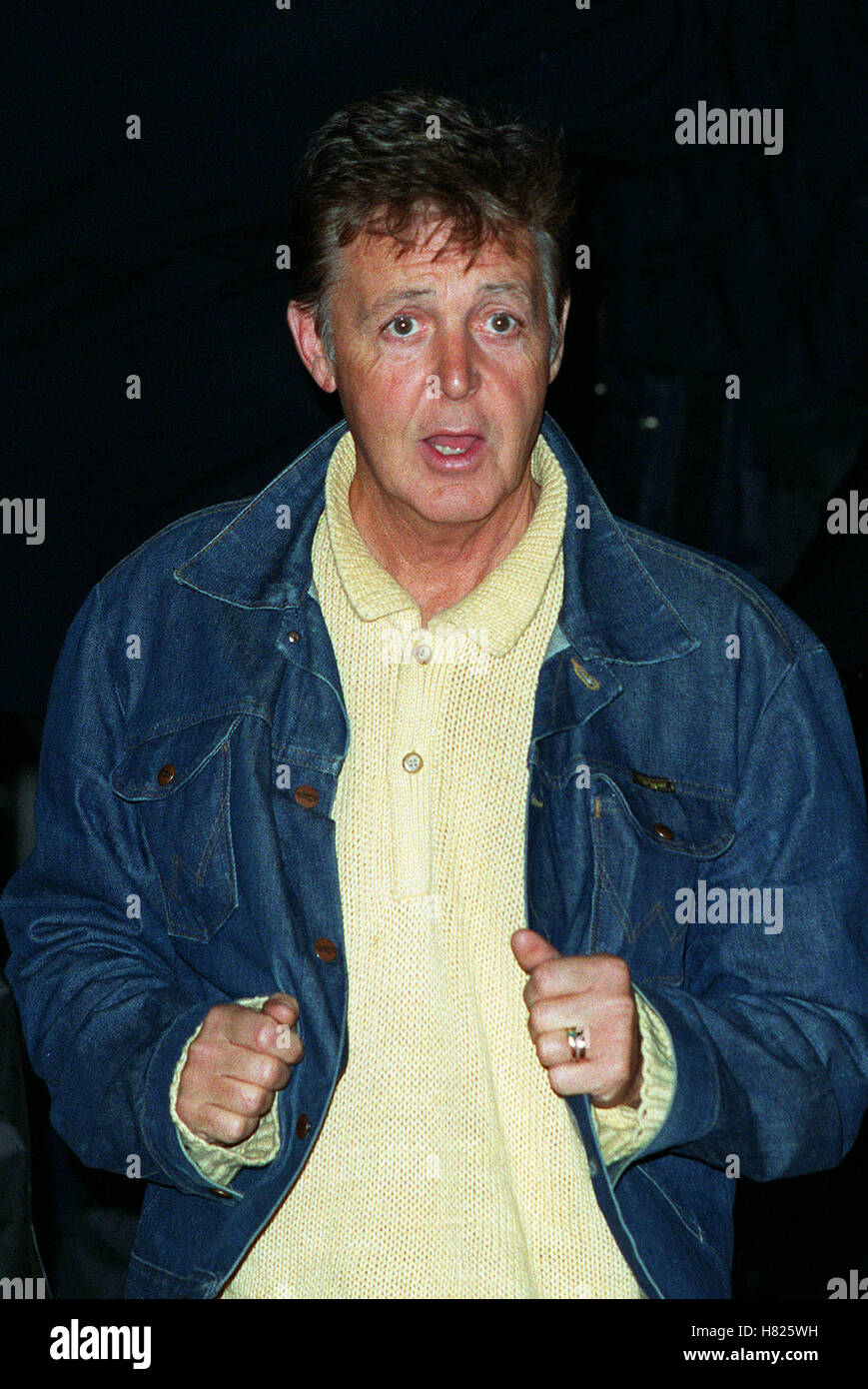 PAUL MCCARTNEY LONDON ENGLAND 02 February 2000