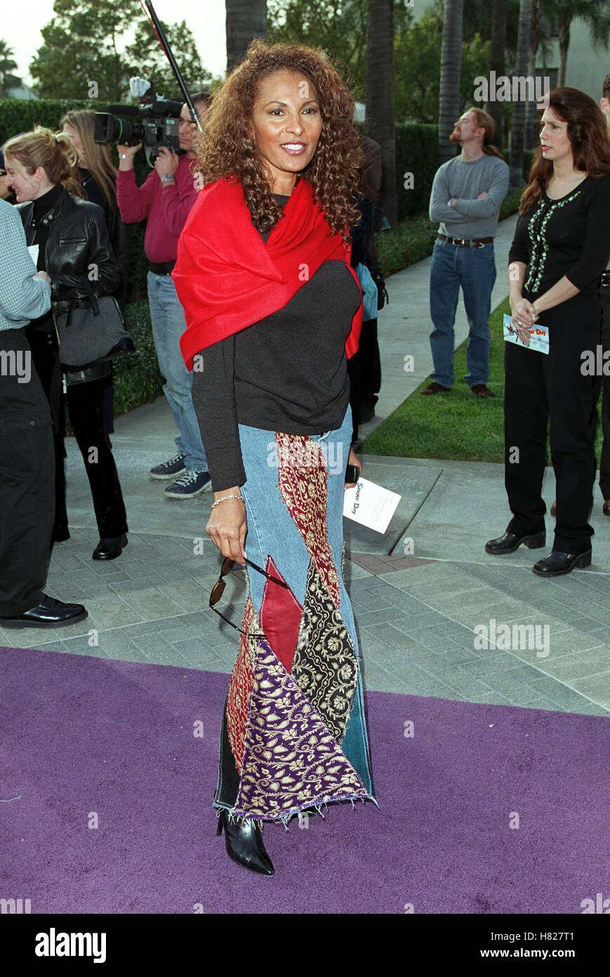 PAM GRIER LOS ANGELES USA 17 February 2000 - Stock Image
