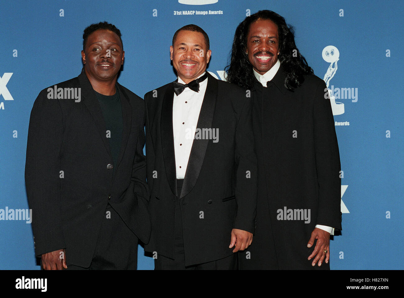 EARTH WIND & FIRE LOS ANGELES USA 19 February 2000 - Stock Image