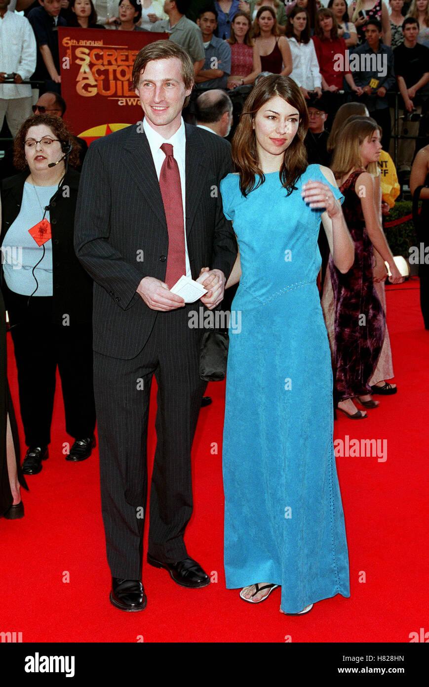 SPIKE JONZE & SOPHIA COPPOLA LOS ANGELES USA 12 March 2000