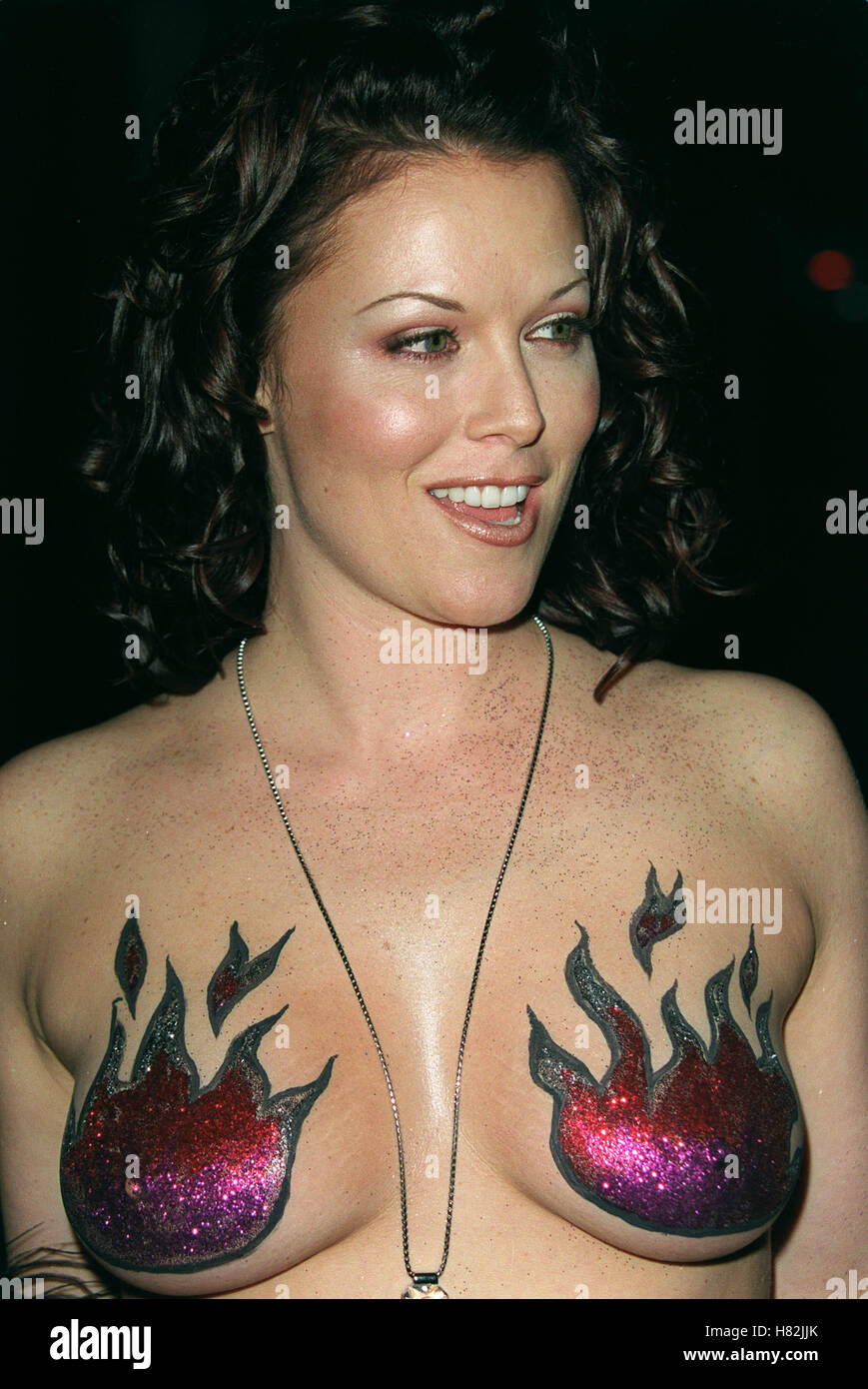 ALISHA KLASS THE CENTRE OF THE WORLD PARTY HOLLYWOOD LOS ANGELES USA 17  April 2001 -