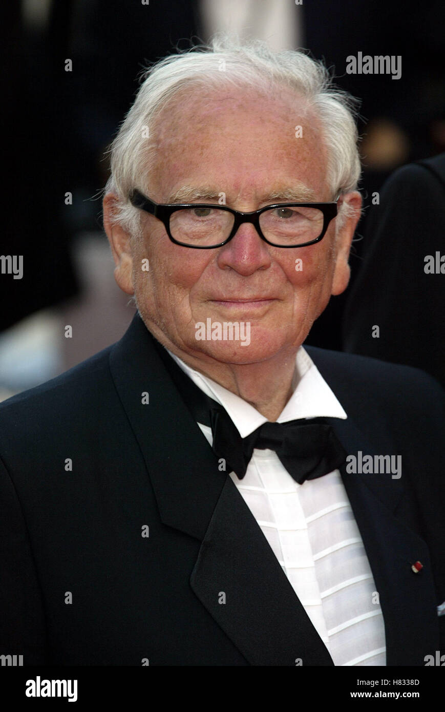 PIERRE CARDIN CANNES FILM FESTIVAL 2002 CANNES FILM FESTIVAL CANNES FRANCE 19 May 2002 - Stock Image