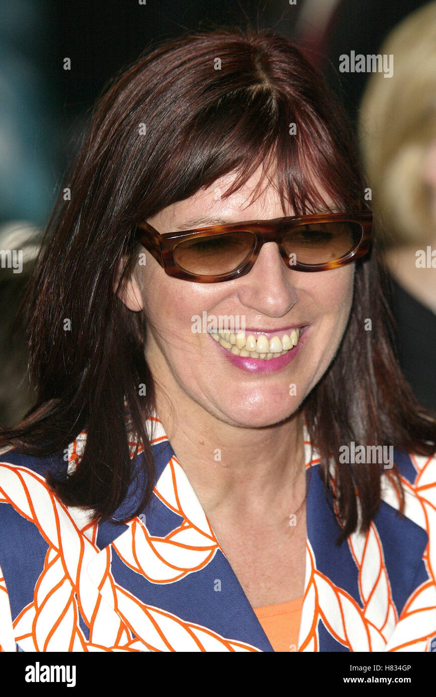 JANET STREET PORTER 'MINORITY REPORT' LONDON PREM THE ODEON LEICESTER SQUARE LONDON ENGL 26 June 2002 - Stock Image