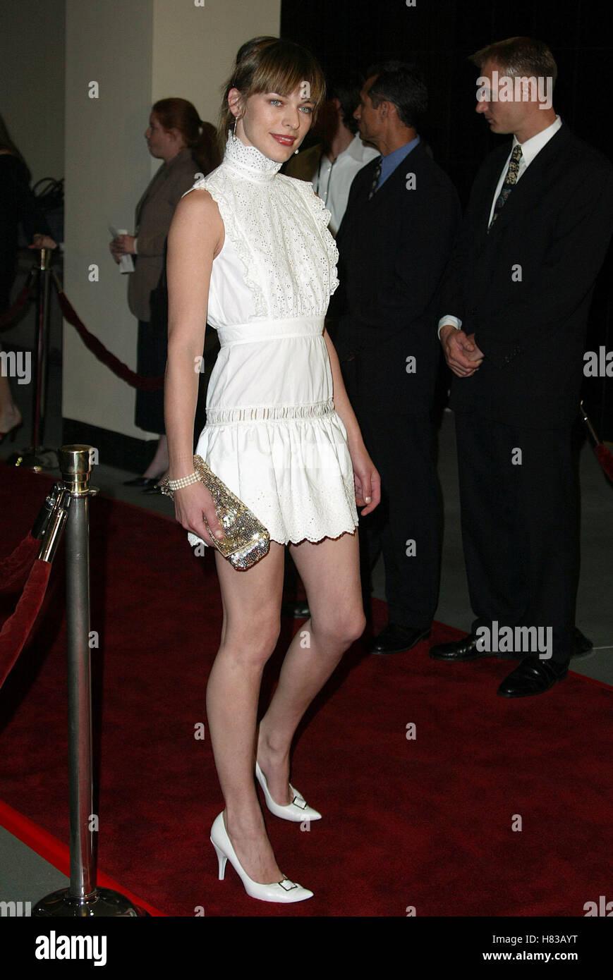 Milla Jovovich Resident Evil Film Premiere Hollywood Los Angeles
