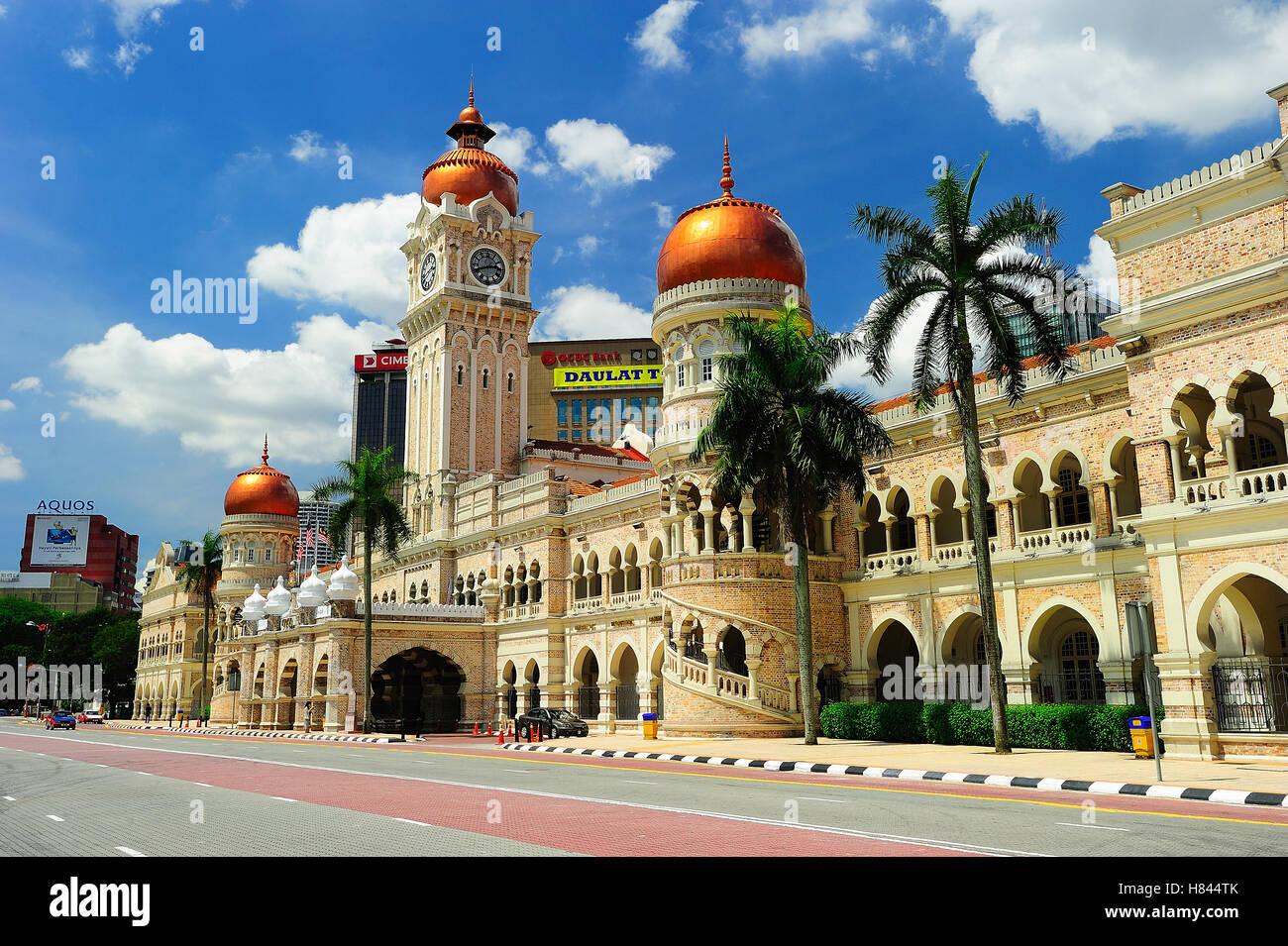 Sultan Abdul Samad Building Kuala Lumpur Malaysia Stock Photo Alamy