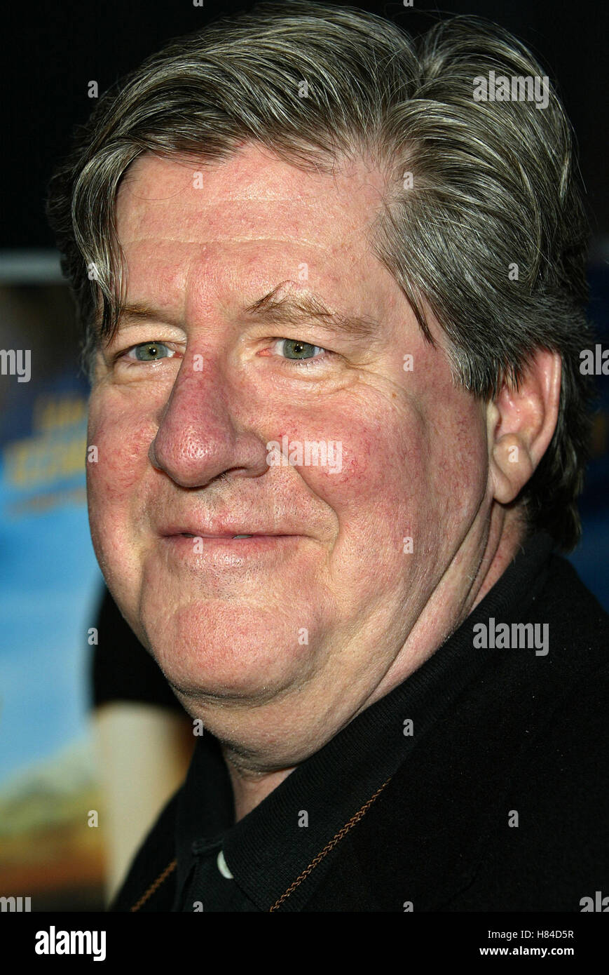 EDWARD HERRMANN THE CAT'S MEOW FILM PREMIERE HOLLYWOOD LOS ANGELES USA 10 April 2002 - Stock Image