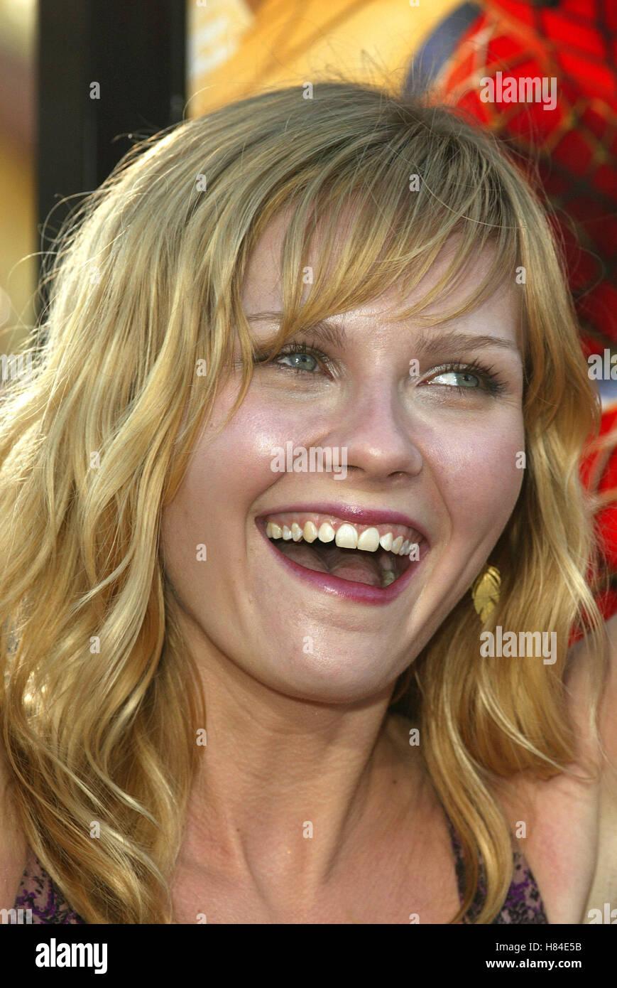 Kirsten Dunst Spider Man Film Premiere Westwood Los Angeles Usa 29