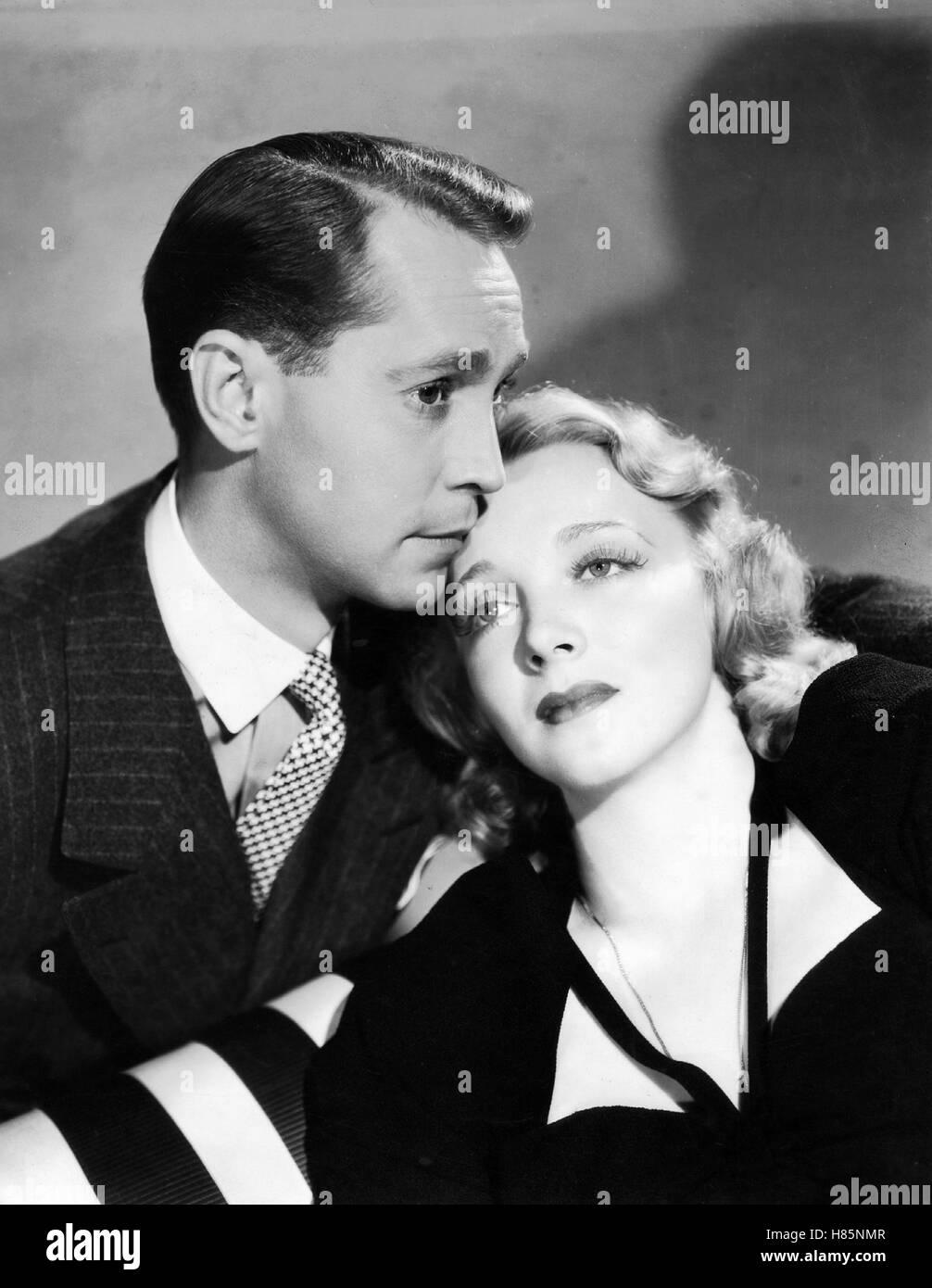 Der Arzt und die Frauen, (BETWEEN TWO WOMEN) USA 1937, Regie: George B. Seitz, FRANCHOT TONE, VIRGINIA BRUCE, Stichwort: - Stock Image