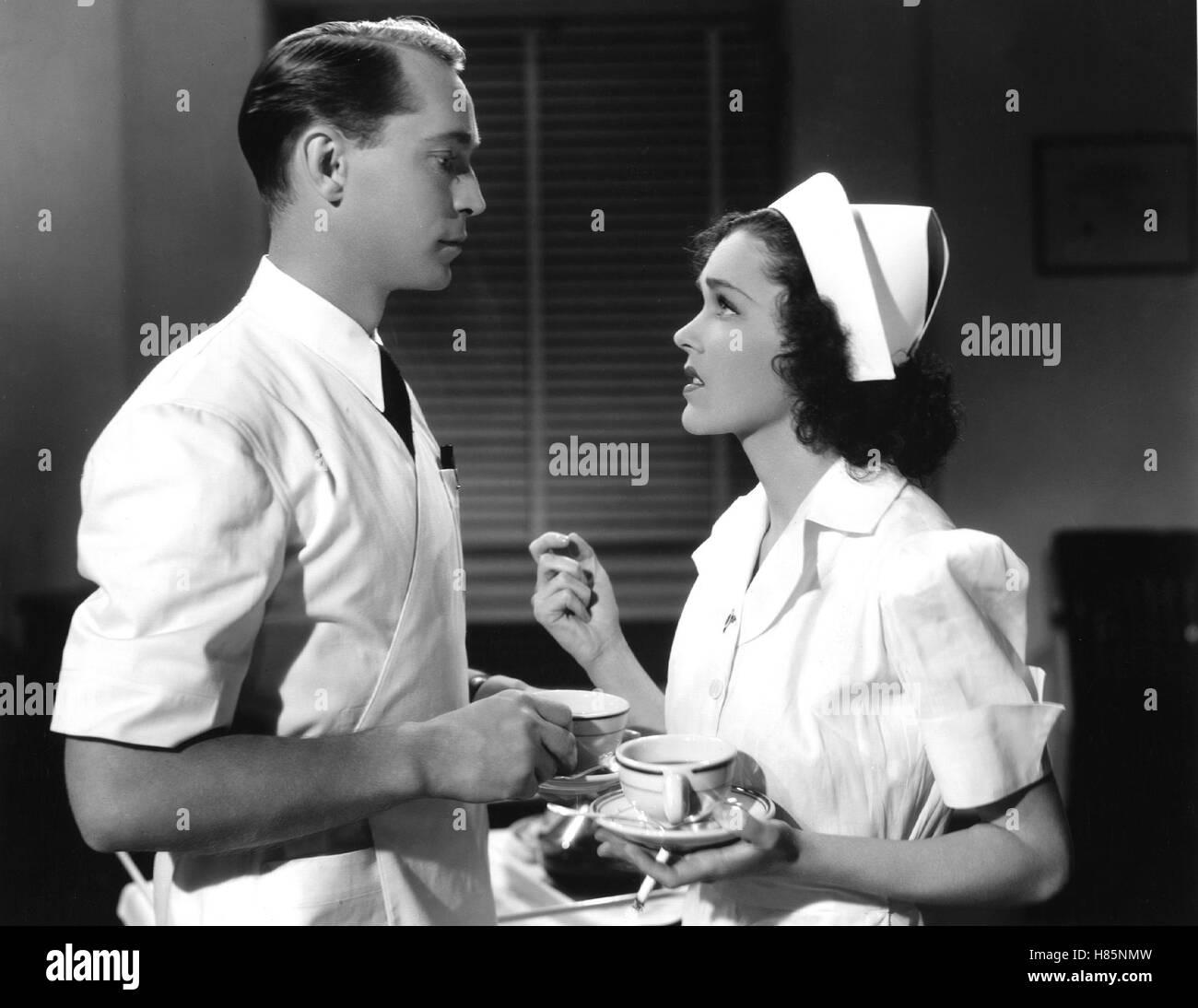 Der Arzt und die Frauen, (BETWEEN TWO WOMEN) USA 1937, Regie: George B. Seitz, FRANCHOT TONE, MAUREEN O'SULLIVAN, - Stock Image