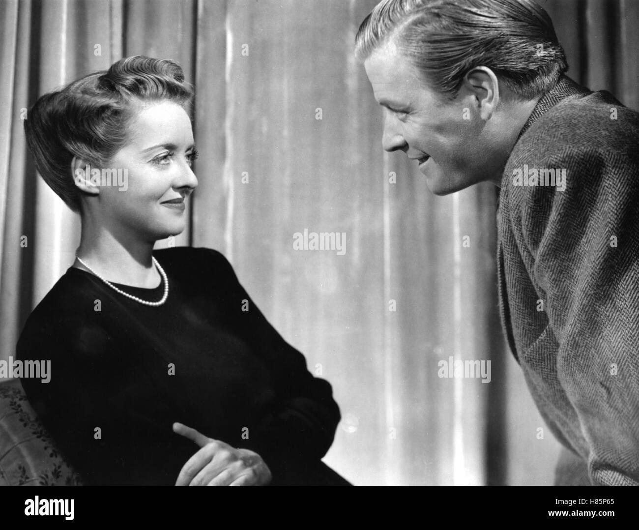 Der Mann, der zum Essen kam, (THE MAN WHO CAME TO DINNER) USA 1941, Regie: William Keighley, BETTE DAVIS (li) - Stock Image