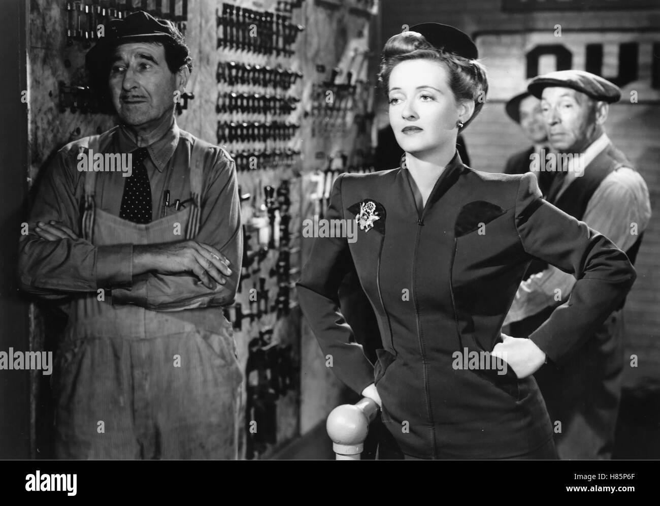 Der Mann, der zum Essen kam, (THE MAN WHO CAME TO DINNER) USA 1941, Regie: William Keighley, BETTE DAVIS (mi) - Stock Image