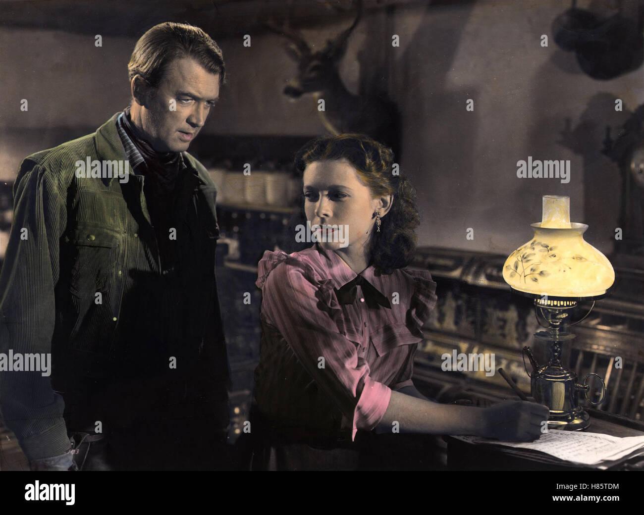Der Mann aus Laramie, (THE MAN FROM LARAMIE) USA 1955, Regie: Anthony Mann, JAMES STEWART, CATHY O'DONNELL - Stock Image