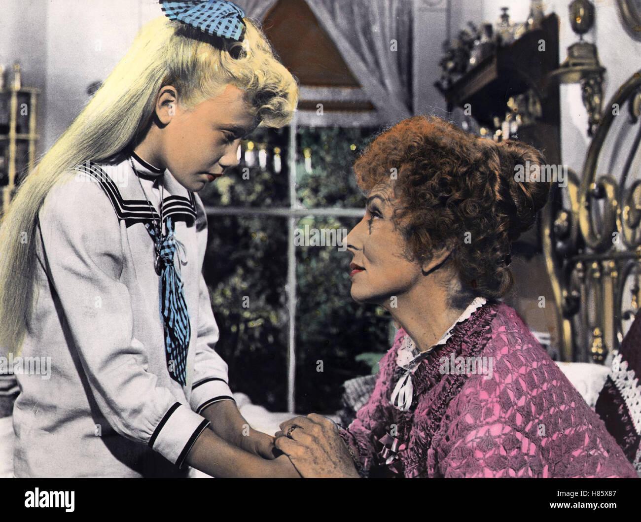 Alle lieben Pollyanna, (POLLYANNA) USA 1960, Regie: David Swift, HAYLEY MILLS, JANE WYMAN - Stock Image